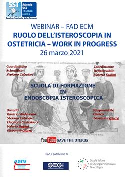 Course Image RUOLO DELL'ISTEROSCOPIA IN OSTETRICIA - WORK IN PROGRESS